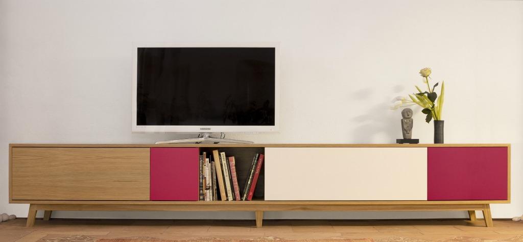Mobile appoggio per televisione artigianlegno - Costruire mobile per televisione ...