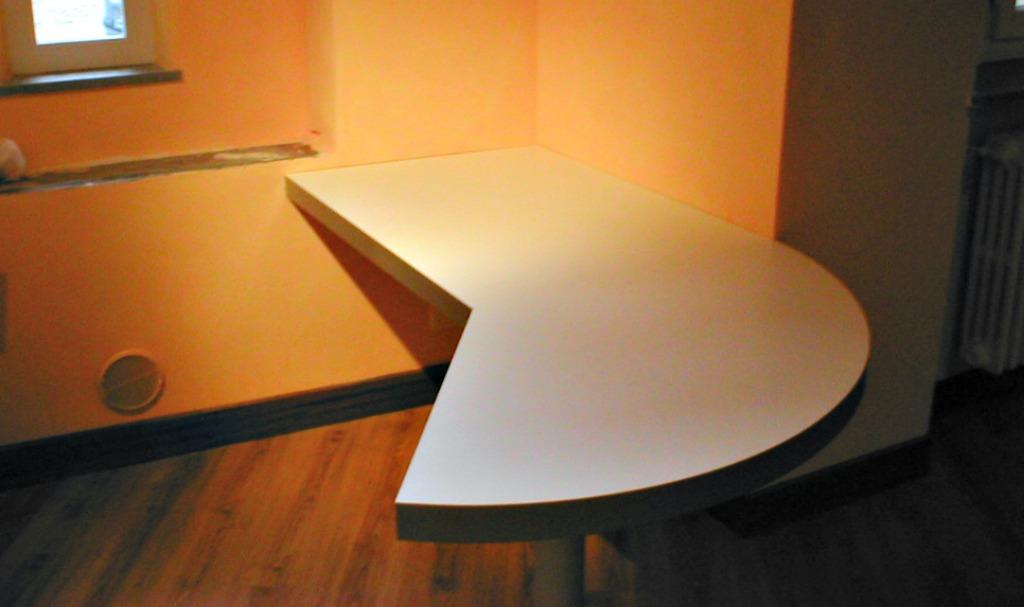 Scrivania Ad Angolo Design : Ampia scrivania ad angolo con due armadi in tessin kaufen tutti